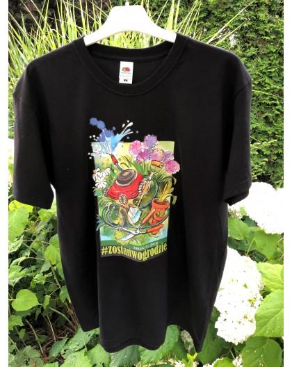 Koszulka męska czarna XL